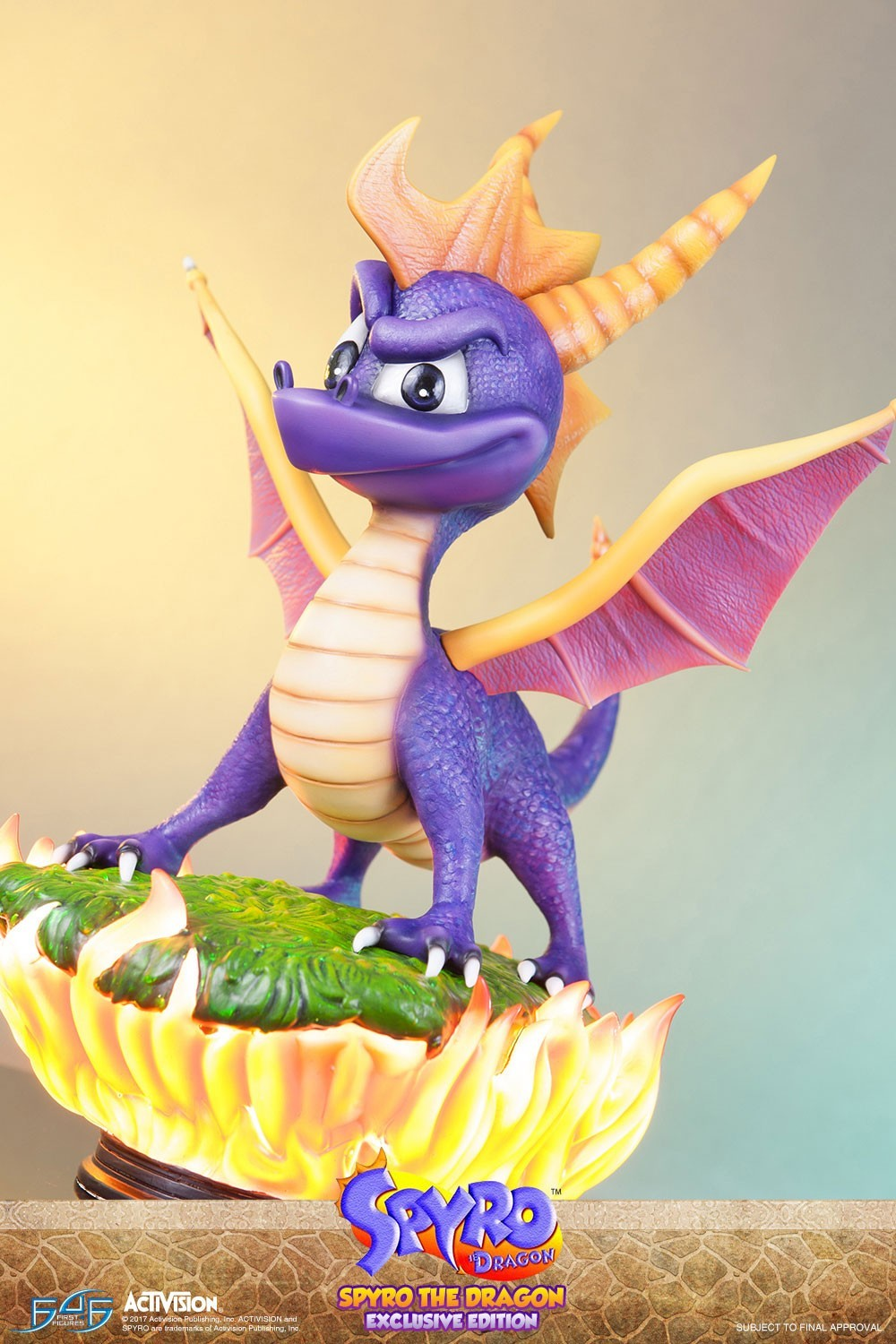 Spyro Exclusive First4figures F4f Action Figure