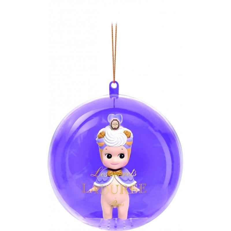 Saint-Honoré Violette - figurine Sonny Angel Boules de Noël Ladurée