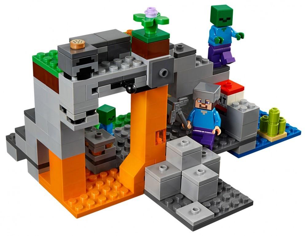 The Zombie Cave LEGO Minecraft Set - Minecraft die grobten hauser