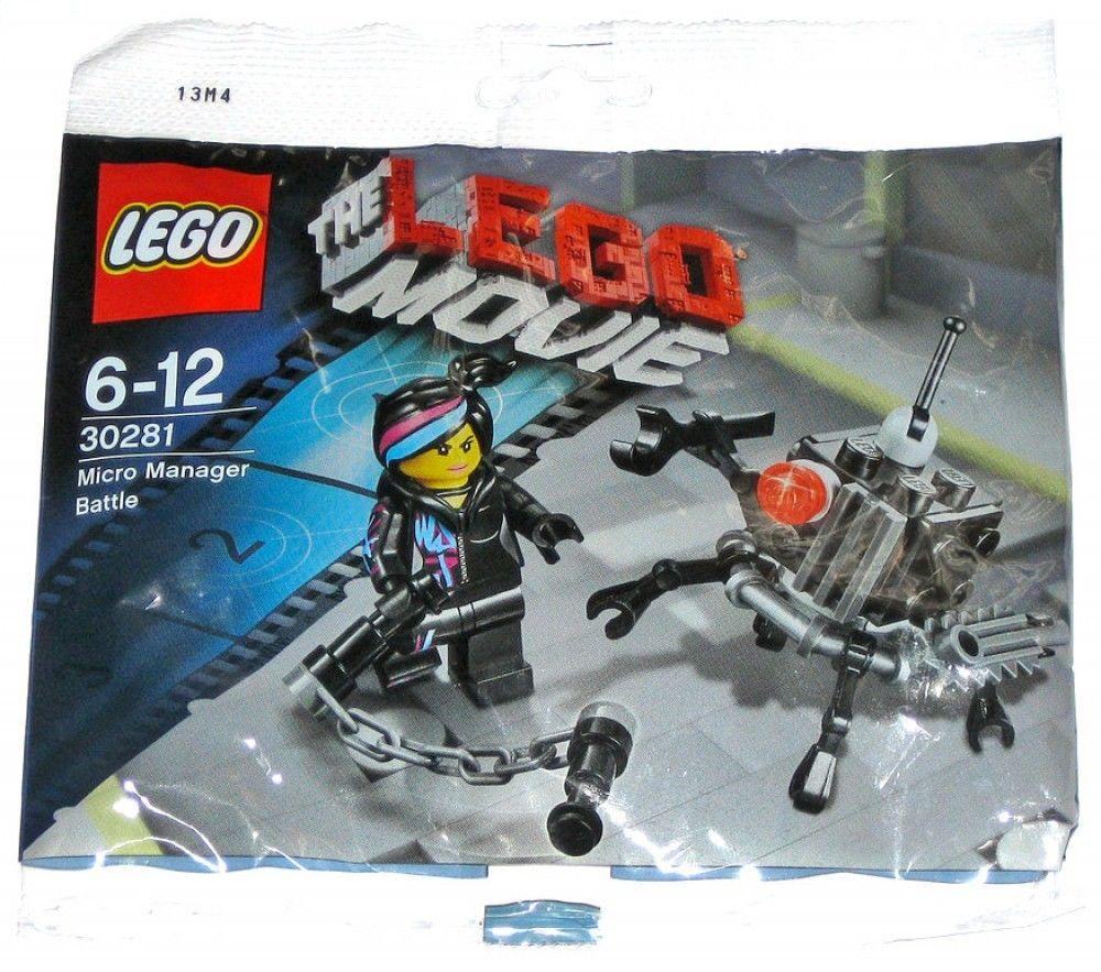 Micro Manager Battle Lego The Lego Movie Set 30281