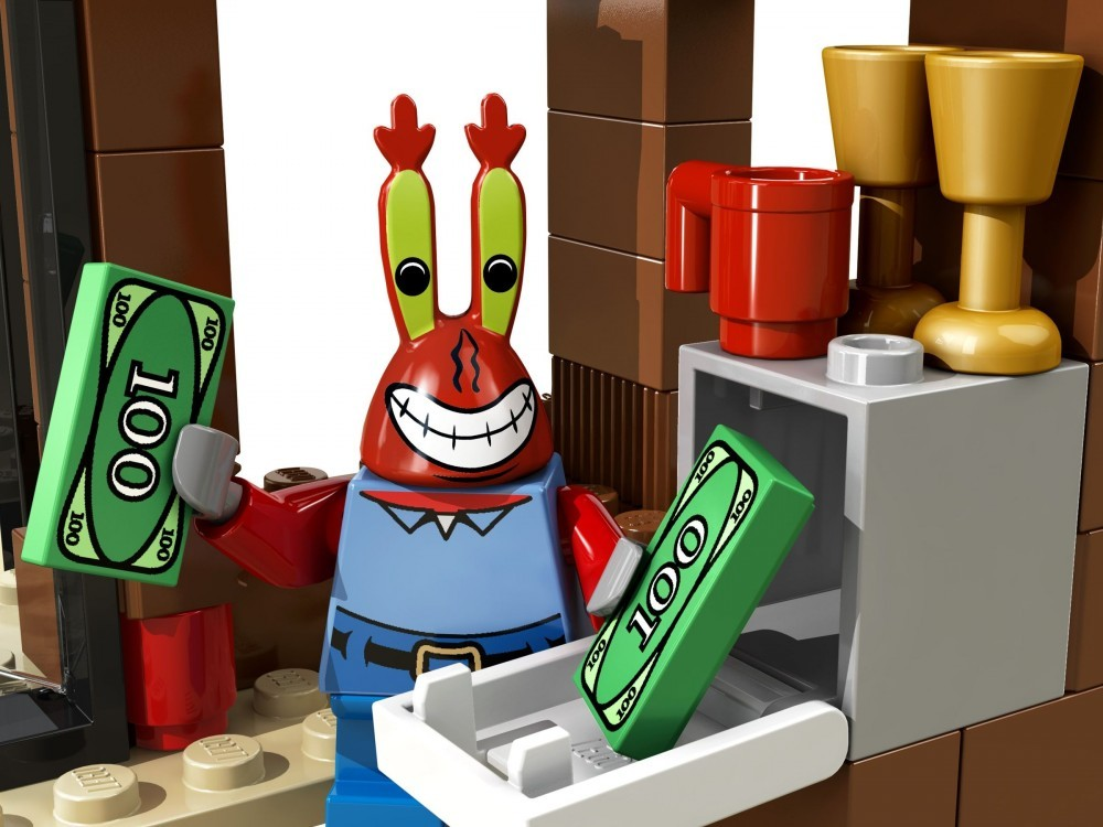 Krusty Krab Adventures Lego Spongebob Squarepants Set 3833