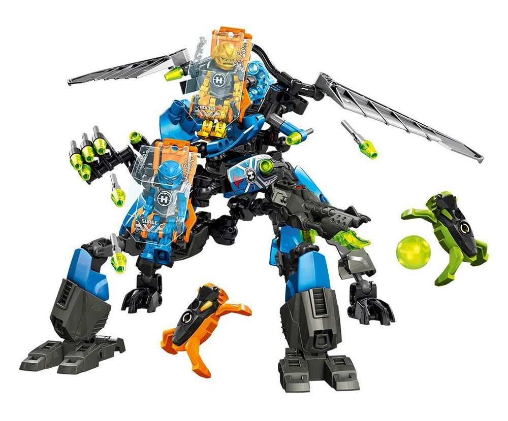 Surge & Rocka Combat Machine - LEGO Hero Factory set 44028