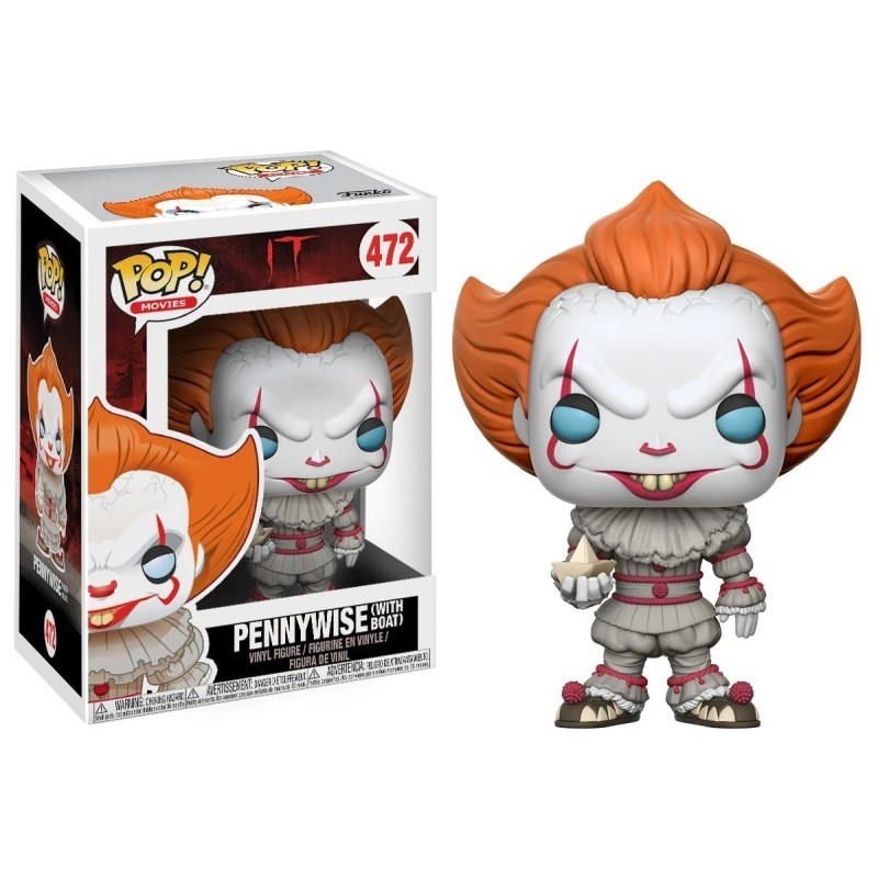 Pennywise Movie IT  2017 Bill Denbrough 537 NEW !! Funko POP