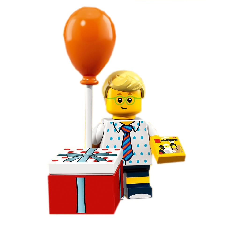 Birthday Party Boy LEGO Minifigures Series 18 set 71021
