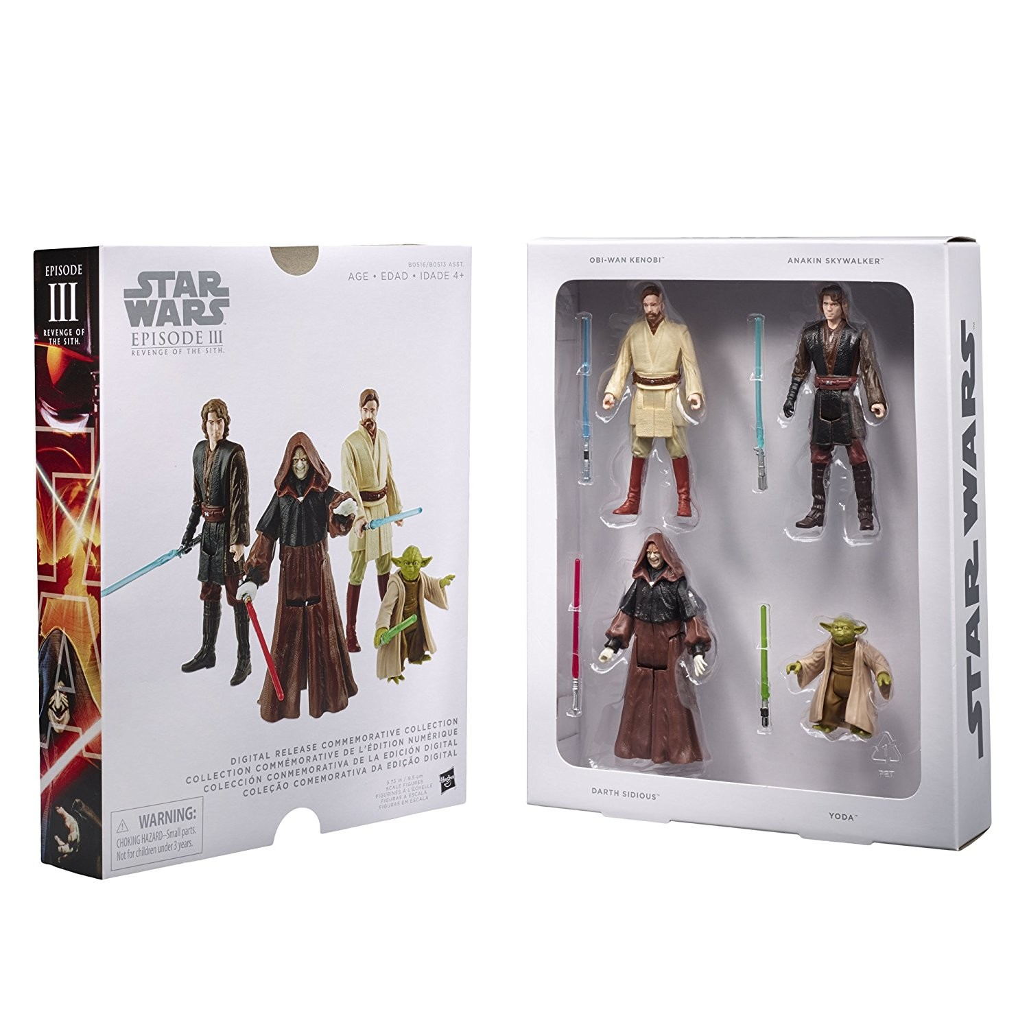 Star Wars Digital Release Commemorative Collection Episode Iii Revenge Of The Sith Star Wars Rebels Action Figure