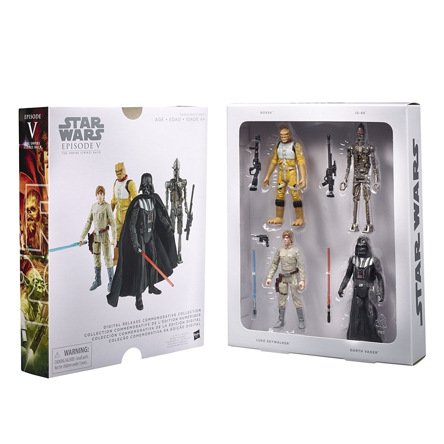 Star Wars Digital Release Commemorative Collection Episode V The Empire Strikes Back Star Wars Rebels Action Figure