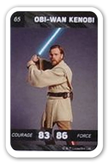 Carte Star Wars Leclerc.Obi Wan Kenobi Carte 65 Leclerc Star Wars Solo