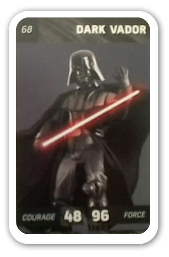 Carte Star Wars Leclerc.Dark Vador Carte 68 Leclerc Star Wars Solo
