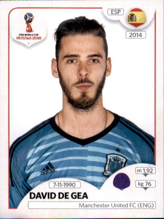 meet 79064 5ef84 David de Gea - Spain - FIFA World Cup Russia 2018 134