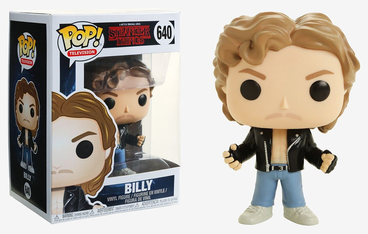 stranger things 2 billy at halloween pop television action figure 640