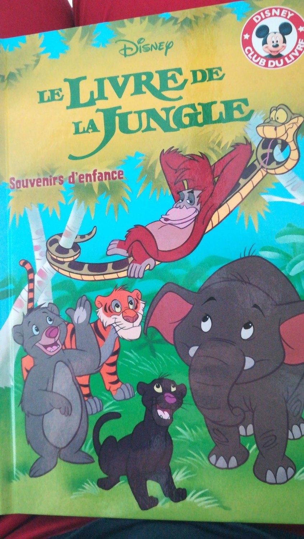 Le Livre De La Jungle Souvenir D Enfance Mickey Club Du Livre