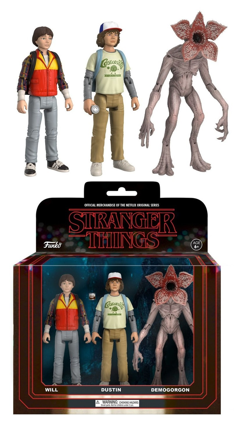 Dart Baby Demogorgon from Stranger Things on Netflix figurine miniature