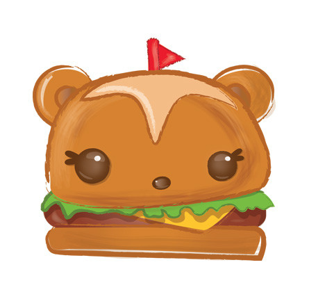 hammy burger num noms series 2 action figure