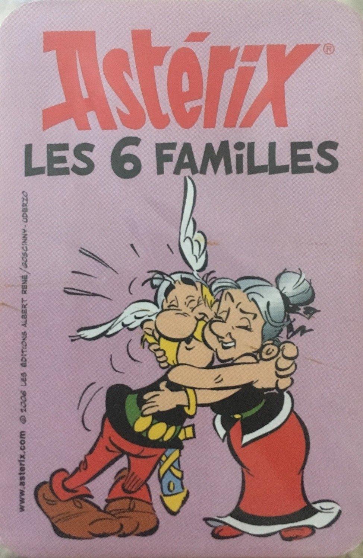 Jeu de société Astérix Jeu des 7 familles Astérix