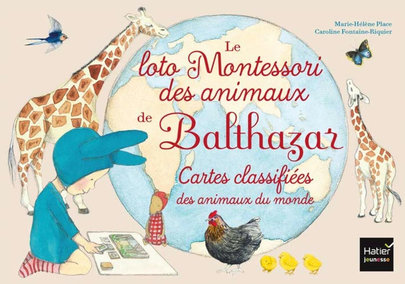 Calendrier Avent Balthazar.Le Loto Montessori De Balthazar Les Animaux Livre Balthazar