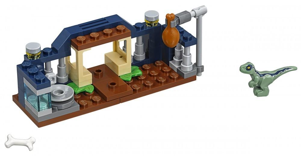 LEGO JURASSIC WORLD 30382 ~ BABY VELOCIRAPTOR PLAYPEN ~ 48 PIECES ~ NEW IN BAG
