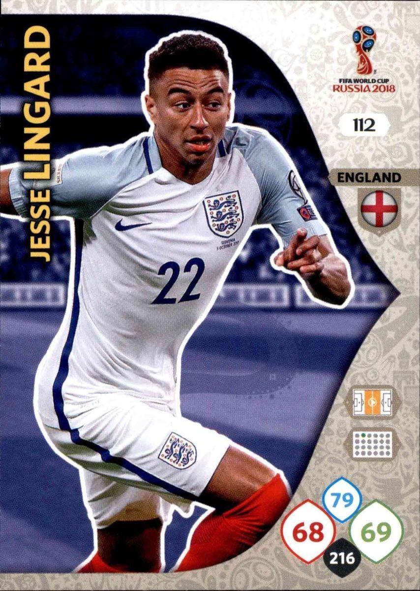 the latest 080d1 da3ad Jesse Lingard - England - Russia 2018 : FIFA World Cup ...