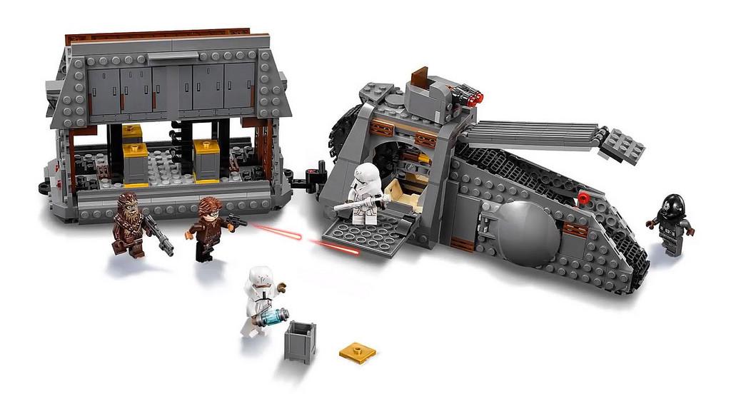 75217 - Figur Minifig Han Solo Conveyex 75217 LEGO Star Wars Imperial Gunner