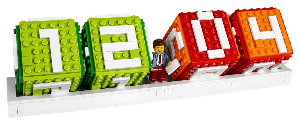 Lego Calendrier.Calendrier En Briques Autres Objets Lego 40172