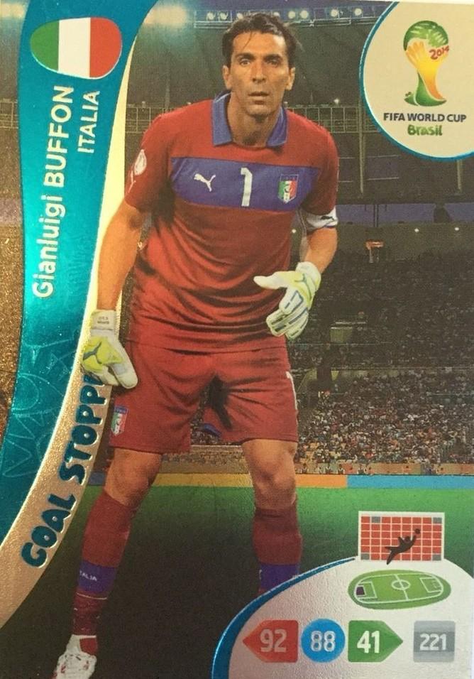 Gianluigi Buffon Goal Stopper Panini Adrenalyn XL World Cup 2014-359