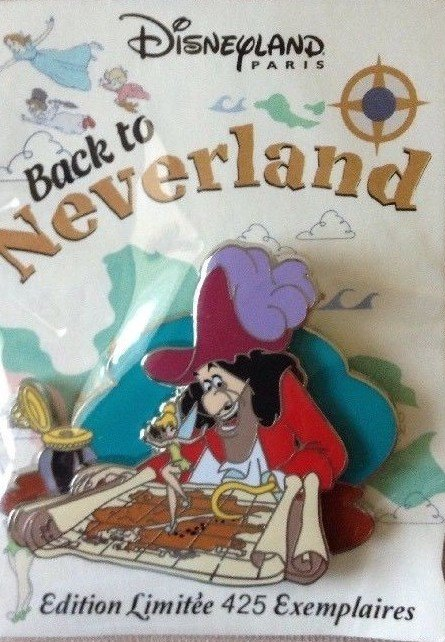 Captain Hook With Map Back To Neverland