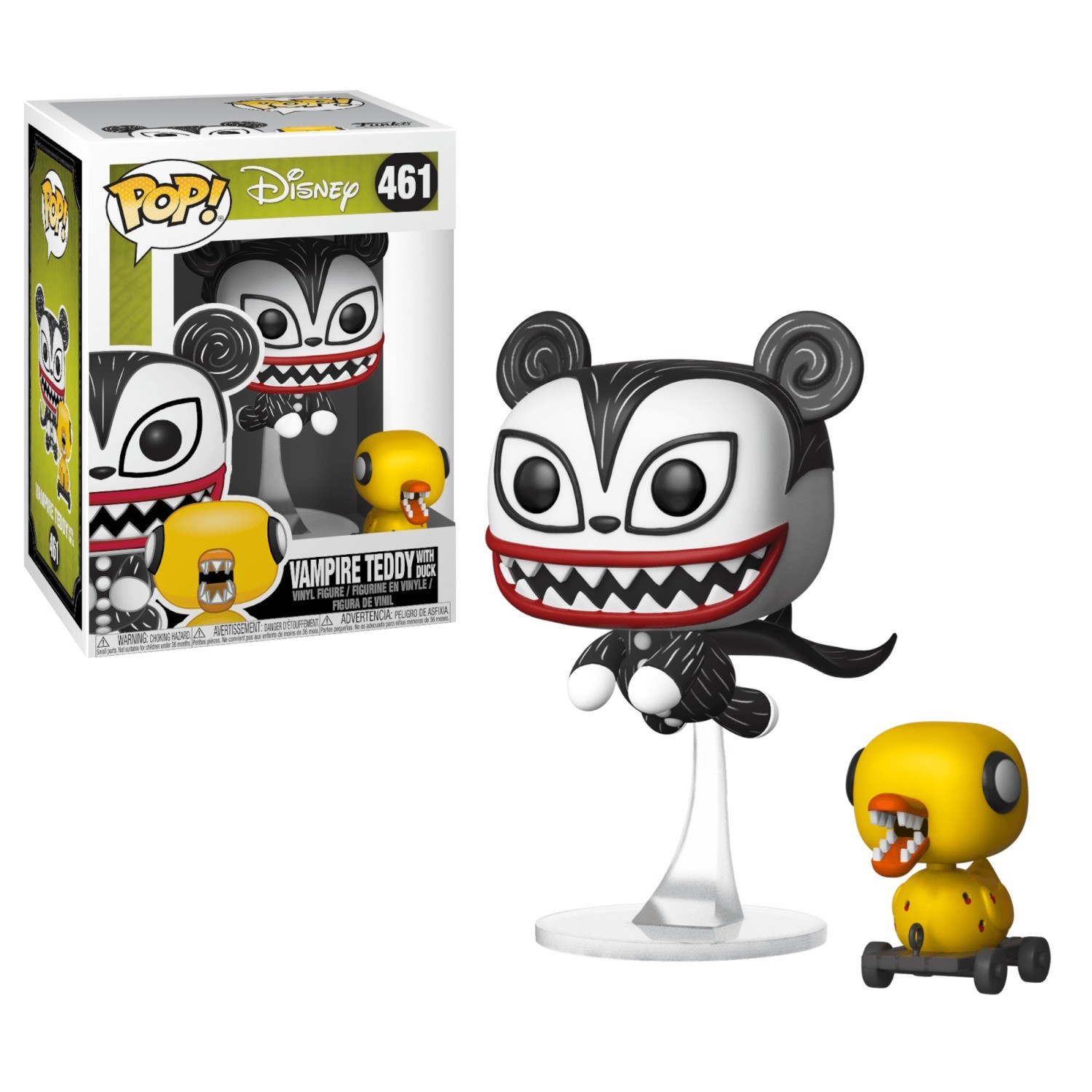 Nightmare Before Christmas - Vampire Teddy with Duck - POP! Disney ...
