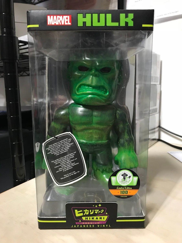 Mean Green Hulk - Marvel action figure