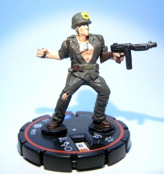 Blau Rock HeroClix Cosmic Justice #020 Sgt