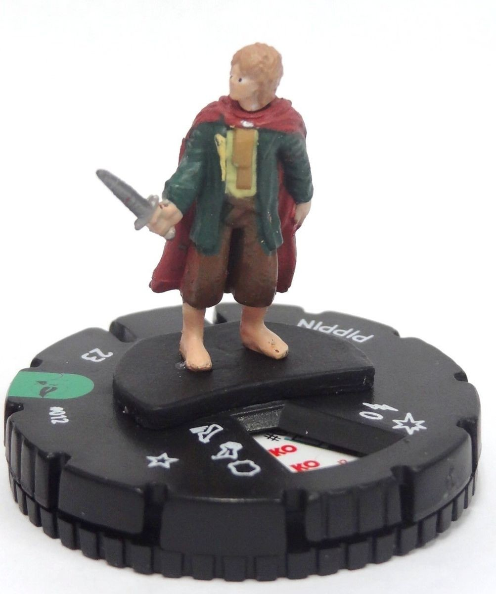 HeroClix Lord of the Rings #012 Pippin