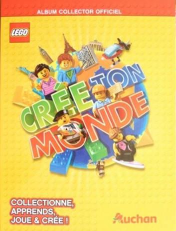 Album Collector Officiel Cartes Lego Auchan Crée Ton Monde
