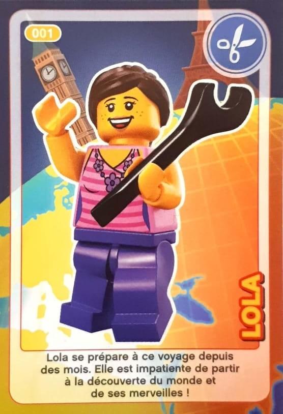 Carte Lego Auchan Echange.Lola Cartes Lego Auchan Cree Ton Monde 001