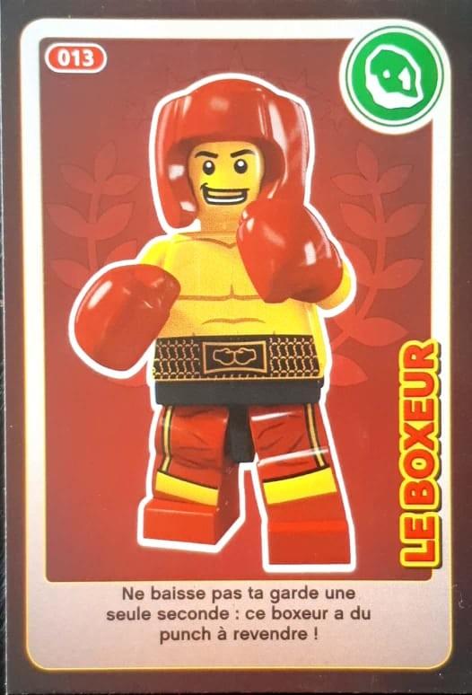 Carte Lego Auchan Echange.Le Boxeur Cartes Lego Auchan Cree Ton Monde 013