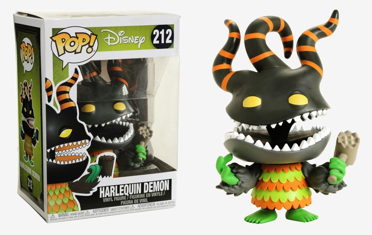 The Nightmare Before Christmas - Harlequin Demon - POP! Disney ...