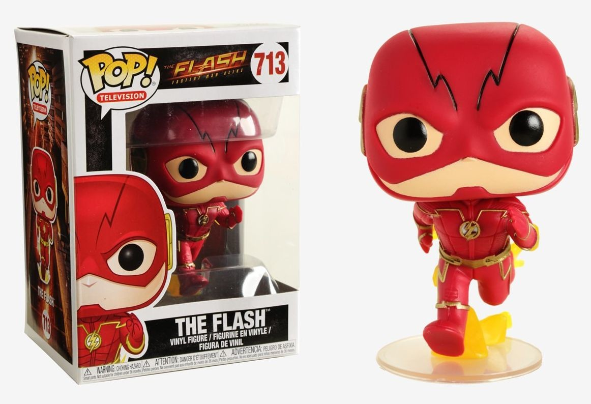 Funko DC Super Heroes Dorbz The Flash Vinyl Figure NEW Toys Collectibles TV