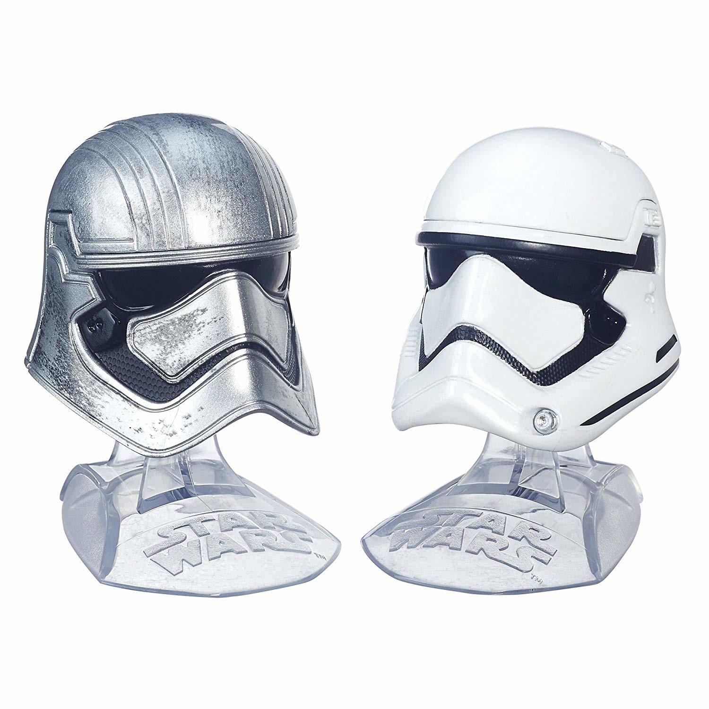 Captain Phasma & First Order Stormtrooper - Helmets