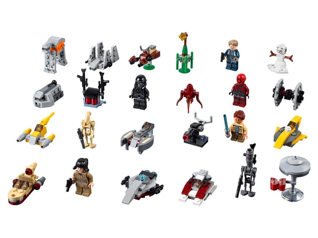 Calendrier Lego City.Advent Calendar Star Wars 2018 Lego Star Wars Set 75213
