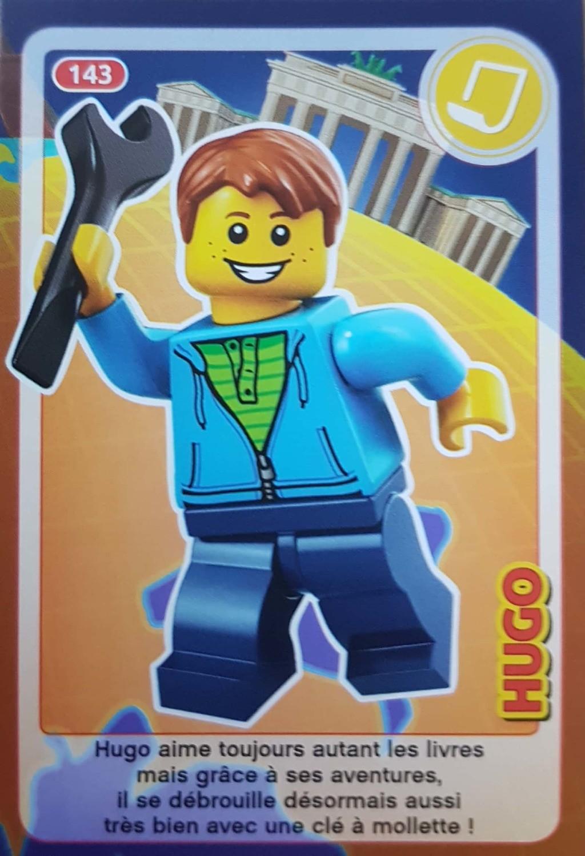 Carte Lego Auchan Echange.Hugo Cartes Lego Auchan Cree Ton Monde 143