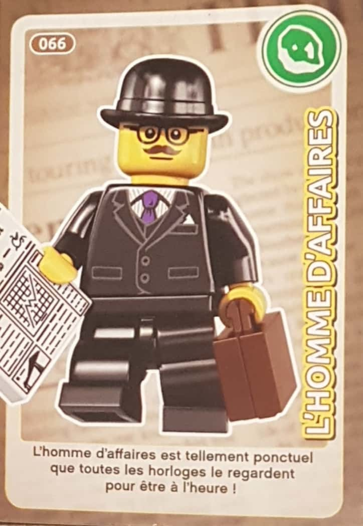 L'homme 066 AuchanCrée Ton Monde Cartes Lego D'affaires W9DI2EH