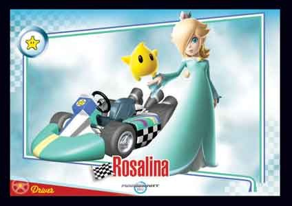 Rosalina Mario Kart Wii Trading Cards Enterplay 021