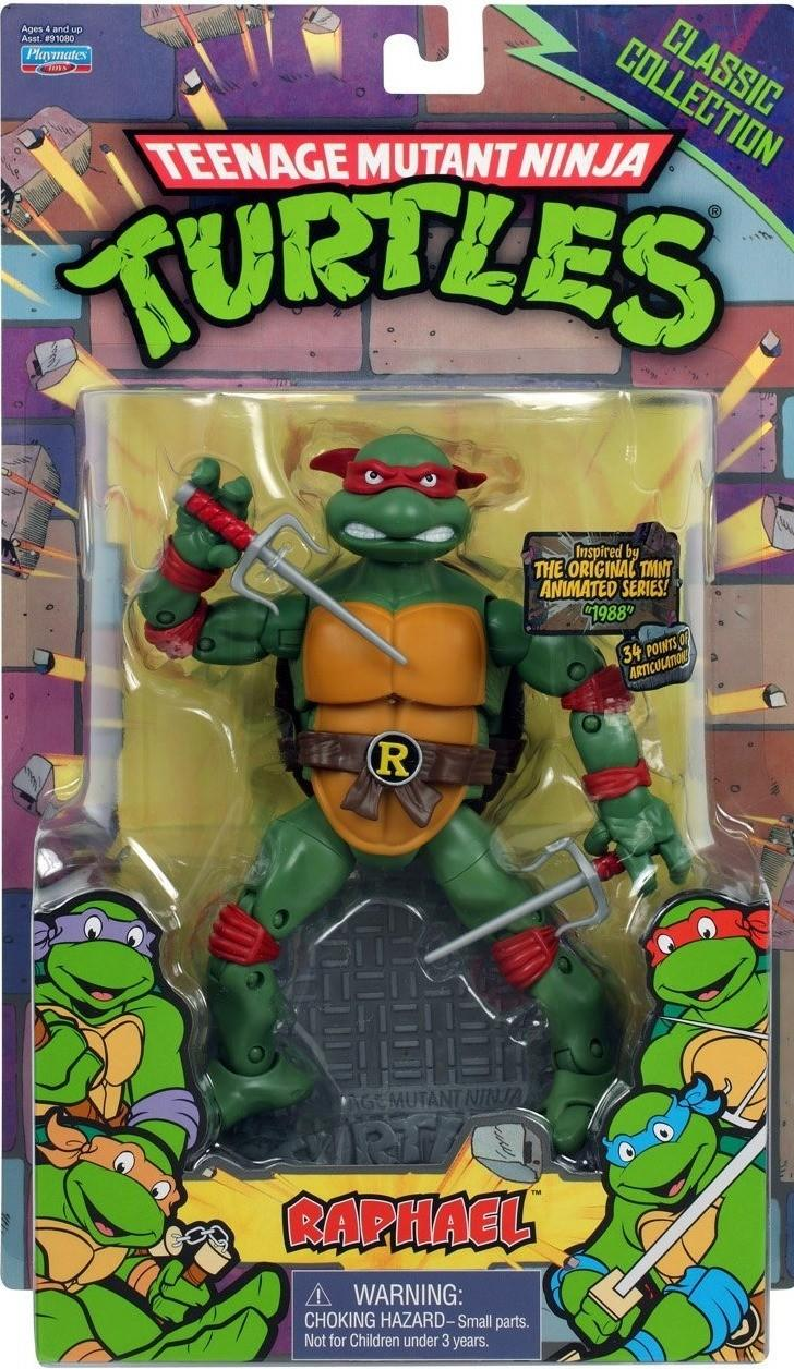 Classic Collection Raphael Teenage Mutant Ninja Turtles Action