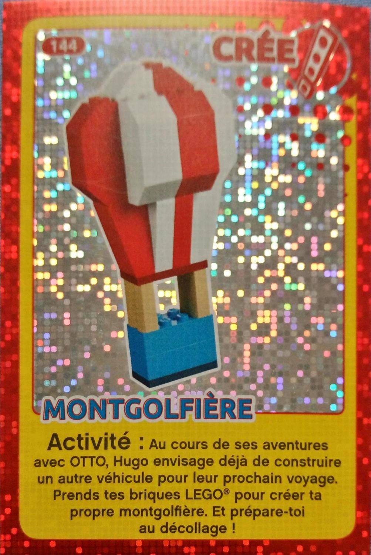 Carte Lego Auchan Echange.Montgolfiere Cartes Lego Auchan Cree Ton Monde 144