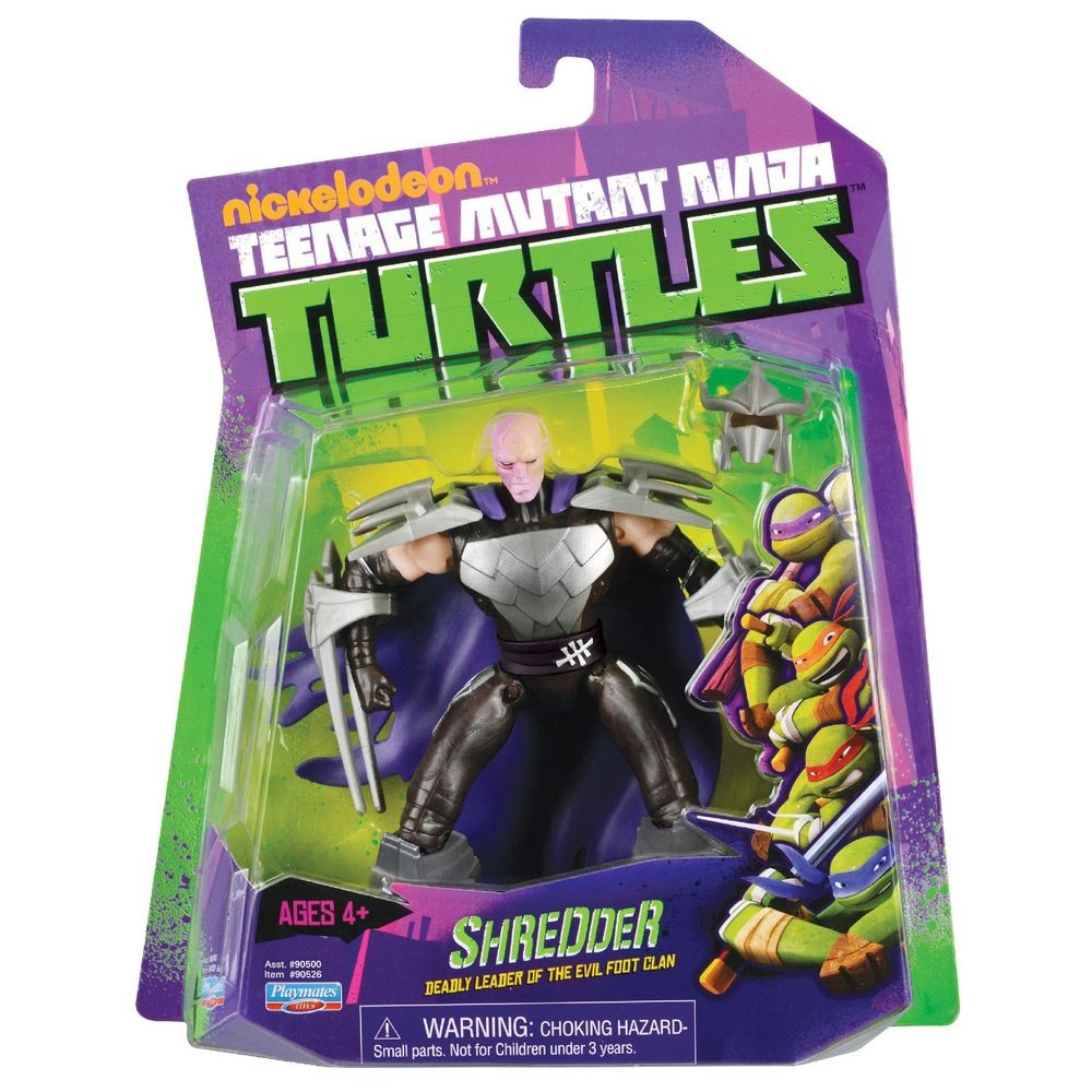 tmnt 2003 shredder toy