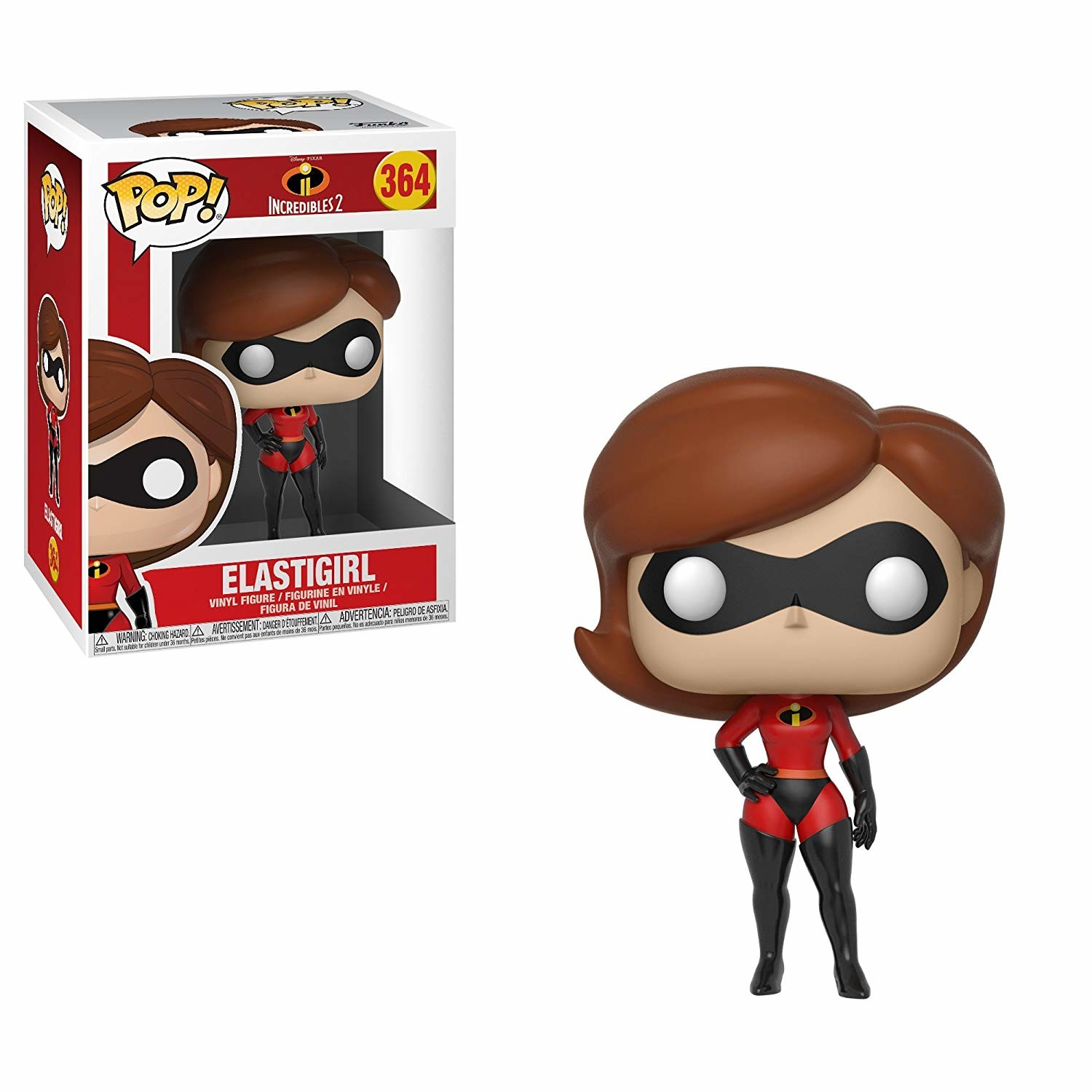 Funko Vinyl Figure 2017 Rock Candy Mrs The Incredibles Incredible