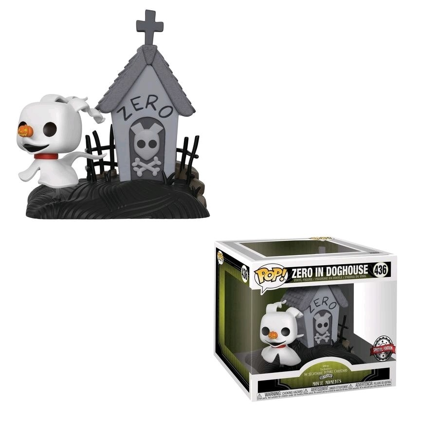 Nightmare Before Christmas - Zero in Doghouse - POP! Disney action ...
