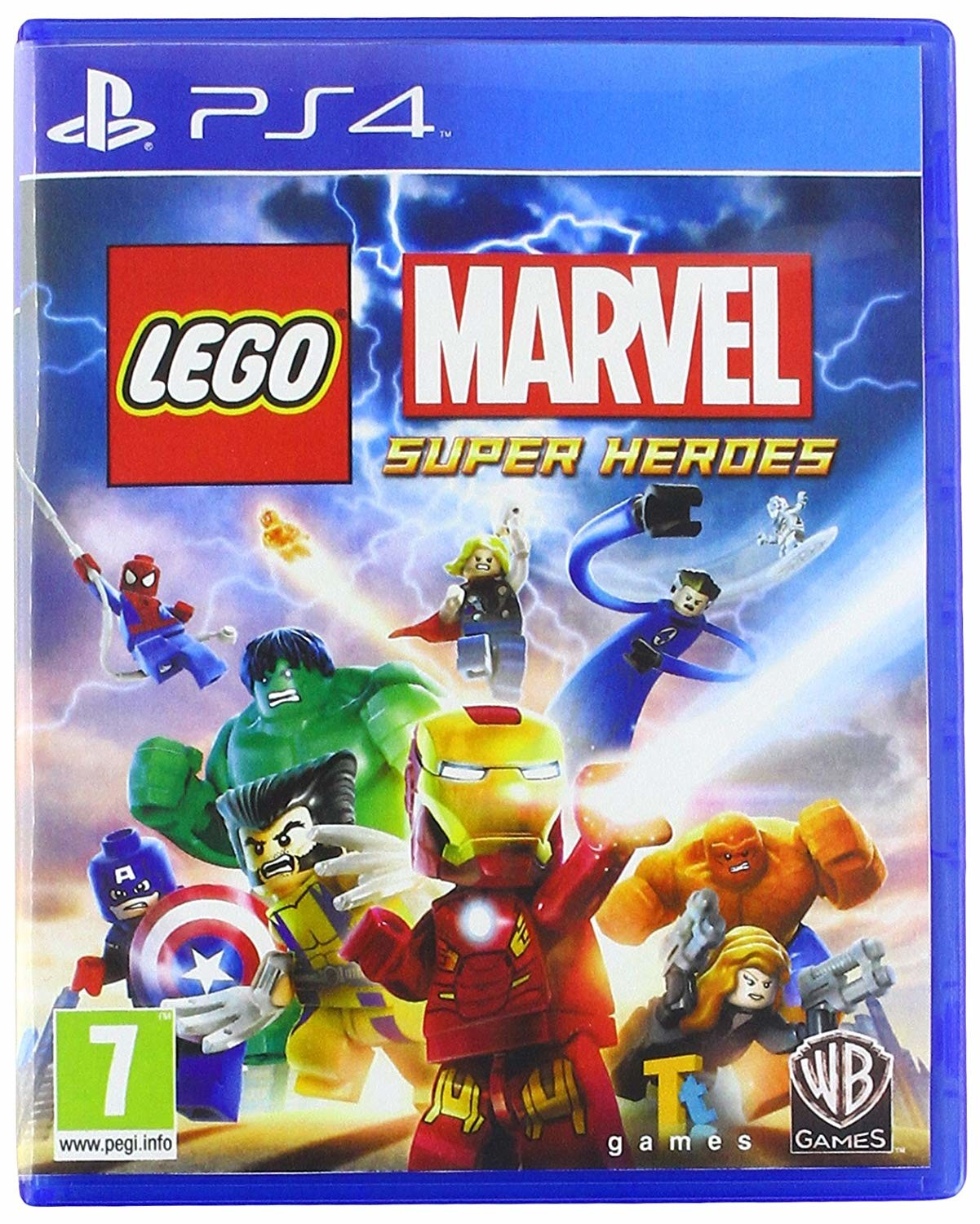 Lego Marvel Super Heroes Playstation 4 Ps4 Game Jurassic World