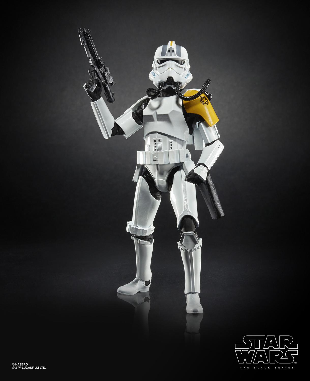 Star Wars The Black Series Imperial Jumptrooper Gamestop Exclusive In Box!