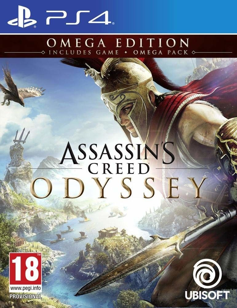 Assassin S Creed Odyssey Omega Edition Playstation 4 Ps4 Game