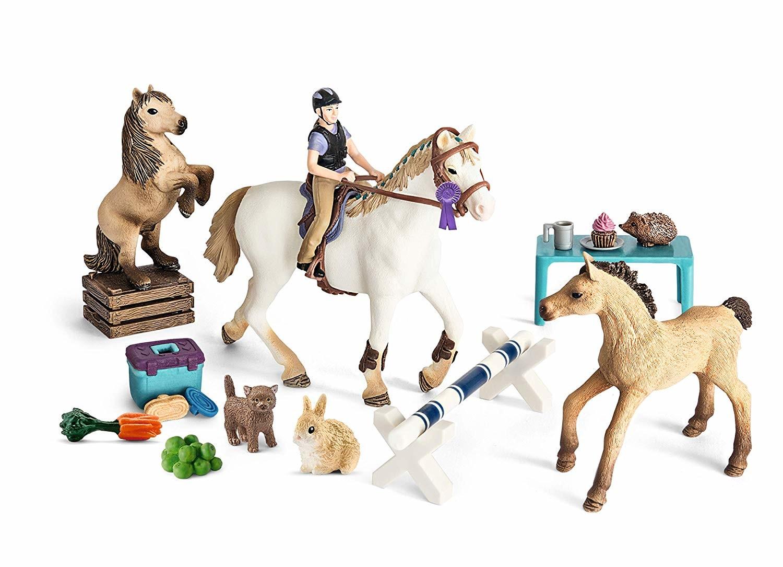 Calendrier De Lavent Schleich Chevaux 2019.Calendrier De L Avent Horse Club 2018 Figurine Schleich