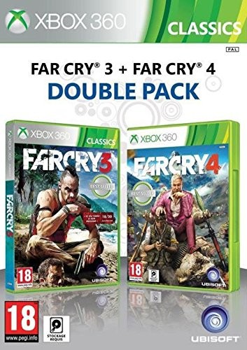 Far Cry 3 Far Cry 4 Double Pack Xbox 360 Game