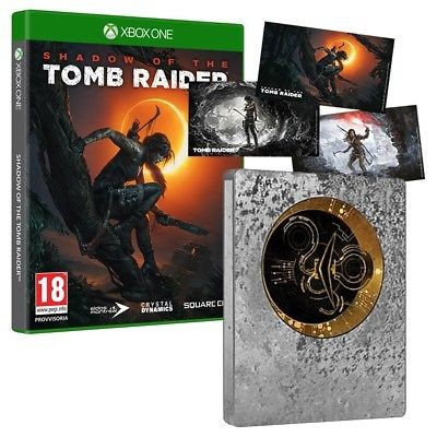Shadow of the Tomb Raider -Limited Steelbook Edition - Xbox